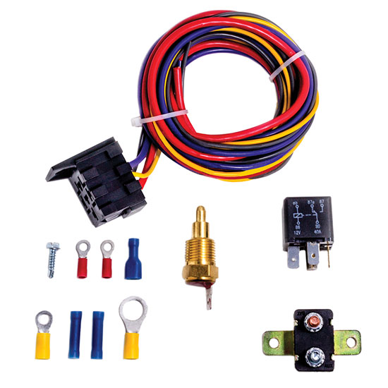Champion Cooling Chevelle Electric Fan Relay: CCFKRL