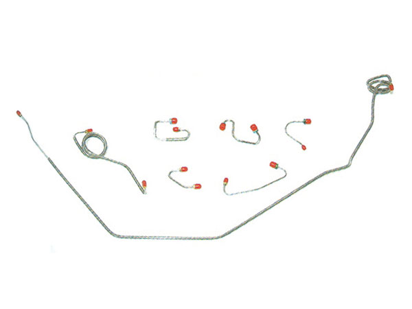 1979 Camaro Complete Prebent Brake Line Kit Regular Steel
