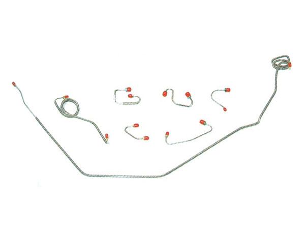 1988 Monte Carlo Complete Prebent Brake Line Kit Stainless Steel