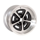 17 x 9 Inch SS Mag Wheel, Gunmetal - Year One - 5.125 Inch B/S