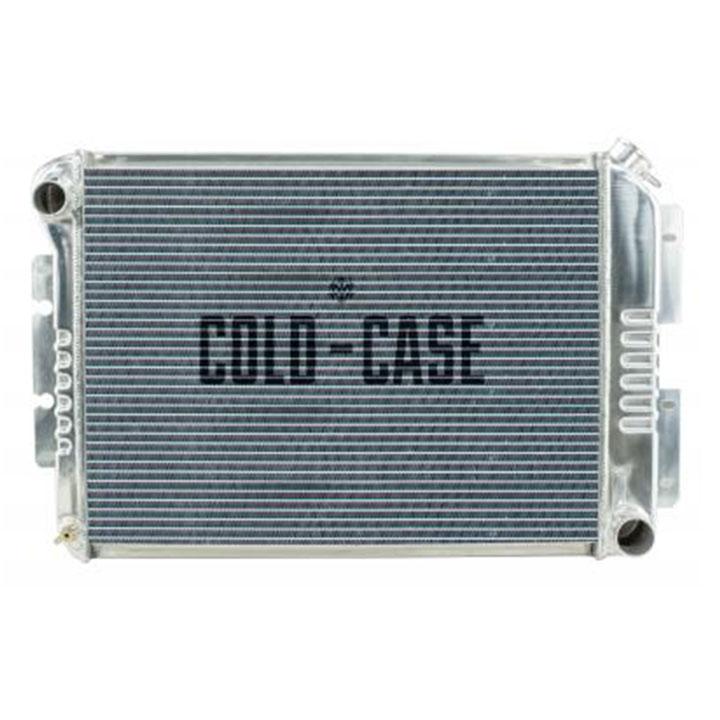 1967-1969 Camaro Cold Case High Performance Aluminum Radiator, BB, Manual, OE Style: CHC11
