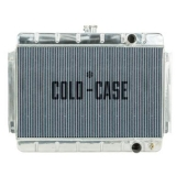 1964-1965 El Camino Cold Case High Performance Aluminum Radiator, Manual, OE Style