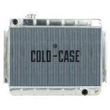 1966-1967 El Camino Cold Case High Performance Aluminum Radiator, Manual, OE Style