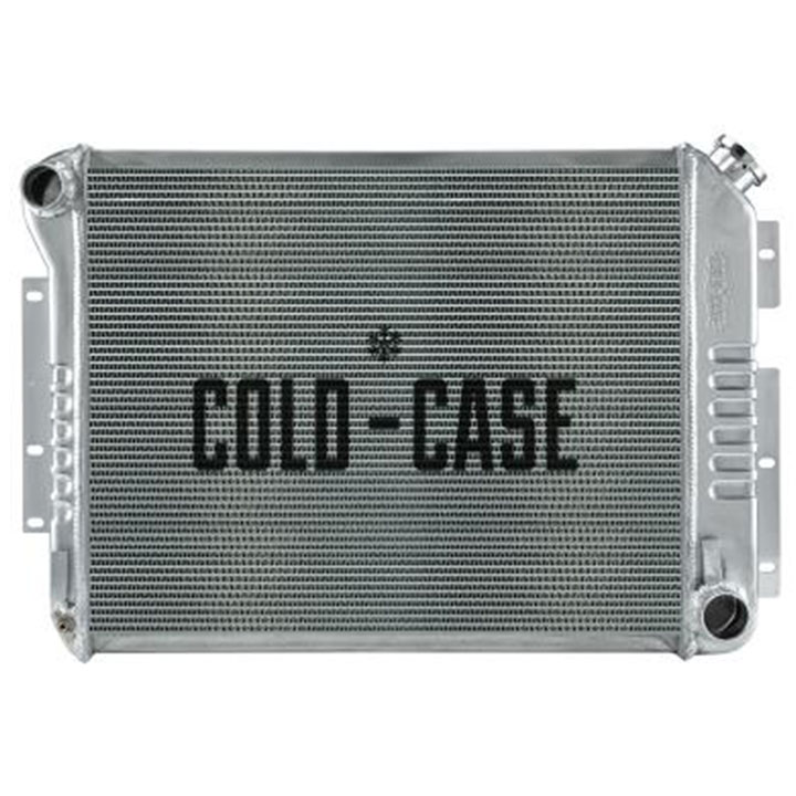 1967-1969 Camaro Cold Case High Performance Aluminum Radiator, SB, Manual, OE Style: CHC549