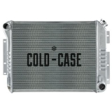 1967-1969 Camaro High Performance Aluminum Radiator, SB, Manual, OE Style