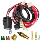 1964-1972 El Camino Cold Case Electric Fan Wiring Kit