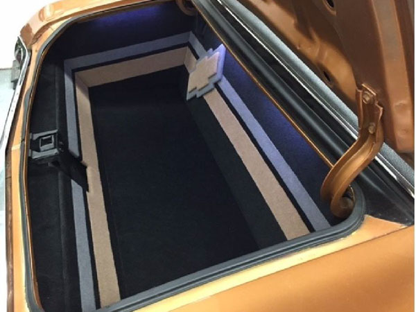 1967 1969 Chevrolet Custom Trunk Panel Kit