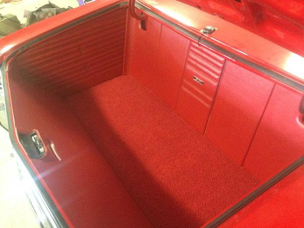 1968 1969 Chevelle Custom Trunk Panel Kit