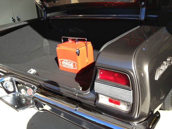 1970 1972 Chevelle Custom Trunk Panel Kit