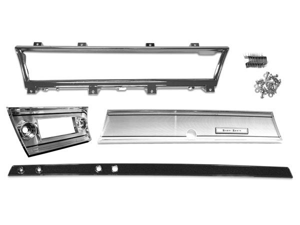 1967 Chevelle Super Sport Dash Bezel And Trim Kit