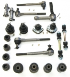 1964-1967 Chevelle Deluxe Front Suspension Kit (Large Bushings 13/16 Inch Idler Arm)