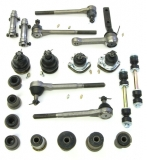 1964-1967 Chevelle Deluxe Front Suspension Kit (Regular Bushings 13/16 Inch Idler Arm)
