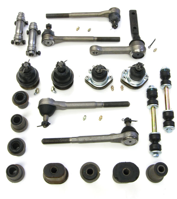 1968-1970 El Camino Suspension Kit, Deluxe Front (Oval Bushings)