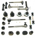 1971-1972 El Camino Premium Deluxe Front Suspension Kit (Oval Bushings)
