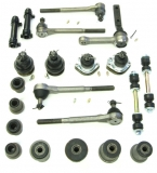 1971-1972 El Camino Premium  Deluxe Front Suspension Kit (Round Bushings)