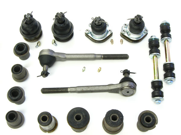 1968-1970 El Camino Suspension Kit, Junior Front (Round Bushings)