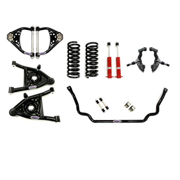 1968-1972 Chevelle Detroit Speed Front Speed Kit Level 1, Small Block & LS: 031311