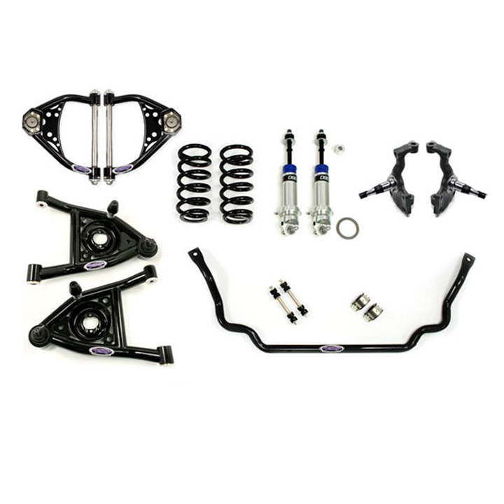 1968-1972 Chevelle Detroit Speed Front Speed Kit Level 2, Small Block & LS: 031318