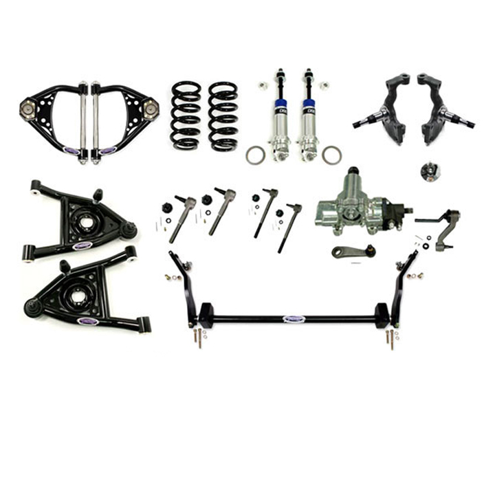 1968-1970 Chevelle Detroit Speed Front Speed Kit Level 3, Big Block: 031327