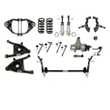 1964-1966 El Camino Detroit Speed Front Speed Kit Level 3, Small Block & LS