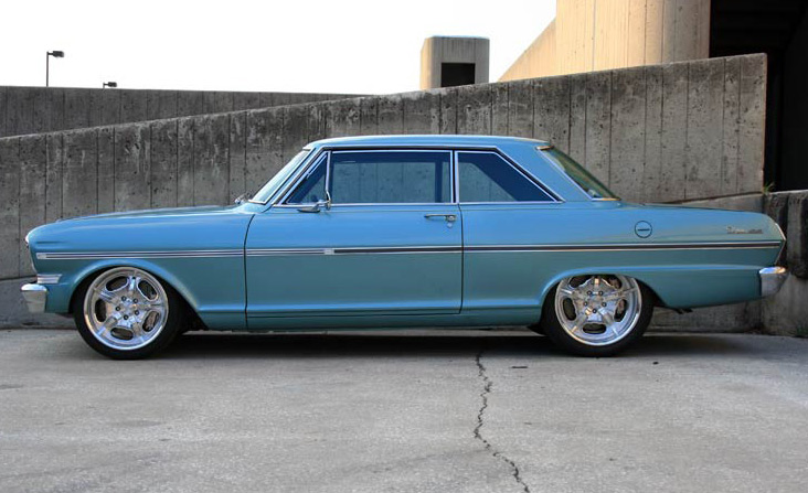 1962-1965 Chevy II Nova Detroit Speed Front Subframe ...