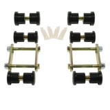 1967-1981 Camaro Heavy Duty Polyurethane Leaf Spring Shackle Kit: 041501
