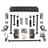 1967-1969 Camaro Detroit Speed QuadraLink Rear Suspension Kit with Single Adjustable Shocks
