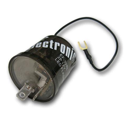 Electronic LED Flasher, 2 Prong, Turn, Hazard: 20-F2