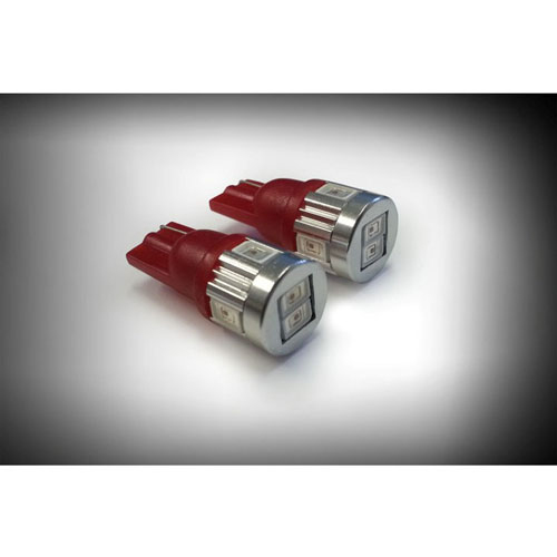 194 Red LED Side Marker Bulbs (Also Dash): 20-194-R