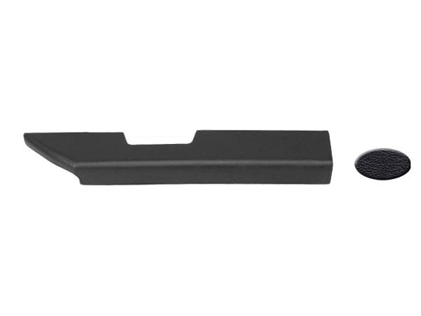 1978-1987 El Camino Padded Arm Rests, Black