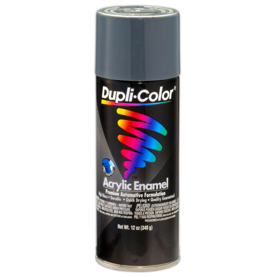 Dupli-Color Premium Enamel; Machinery Gray; 12 oz. Aerosol (GM Shock Gray)