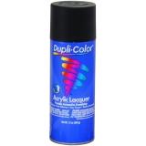 Dupli-Color Premium Lacquer; Flat Black; 12 oz. Aerosol