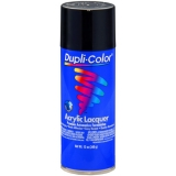 Dupli-Color Premium Lacquer; Gloss Black; 12 oz. Aerosol