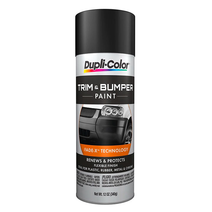 Dupli Color Trim Paint Black 11 Oz Aerosol