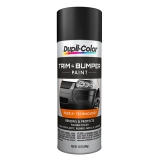 Dupli-Color Trim Paint; Black; 11 oz. Aerosol