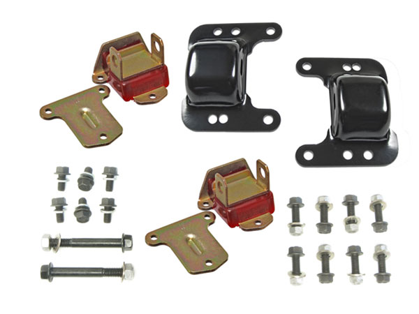 1968-1972 Chevrolet Big & Small Block Poly V-8 Conversion Kit, Red