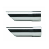 1967-1981 Camaro Pypes 2.5 Inch Angle Cut Style Exhaust Tips: EVT49
