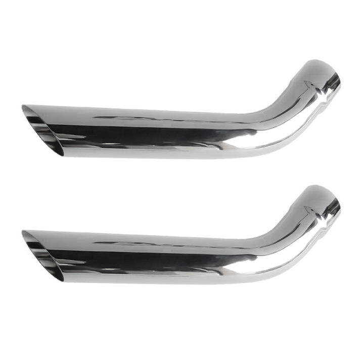 1967-1981 Camaro Pypes 2.5 Inch Hockey Stick Style Exhaust Tips: EVT59