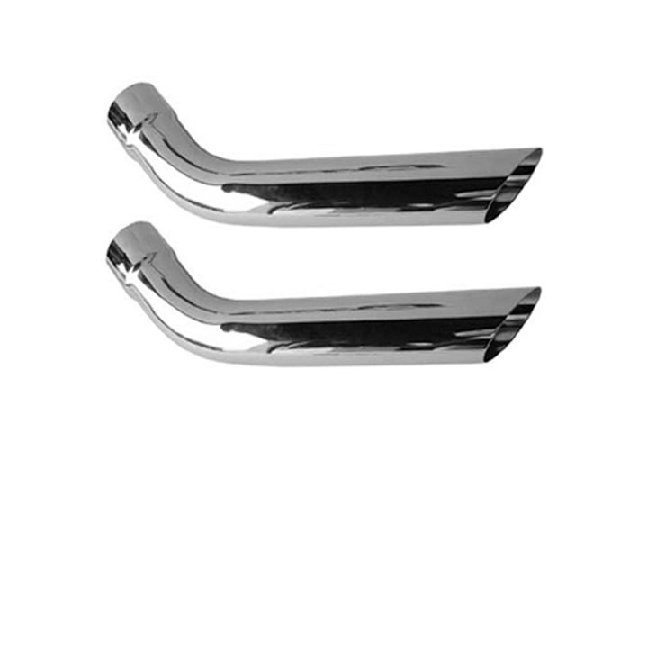 1967-1981 Camaro Pypes 3 Inch Hockey Stick Style Exhaust Tips: EVT61