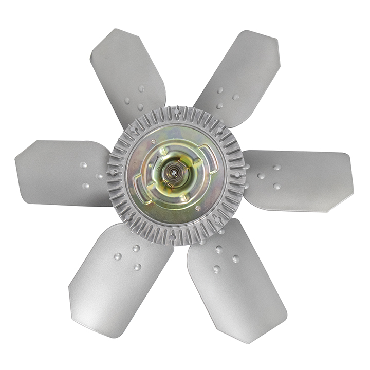 1964-1968 Chevrolet Fan And Clutch Kit 6 Blade for Short Water Pump