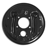 1964-1977 Chevelle Drum Brake Backing Plate, Left Side