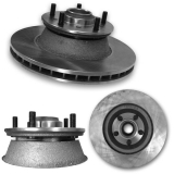1967-1969 Camaro Front Two Piece Brake Rotor Kit
