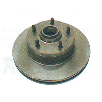 1967-1968 Chevelle Disc Brake Rotor, Four Piston Caliper