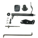 1967-1969 Camaro Clutch Linkage Conversion Kit, Big Block (with Headers)