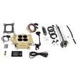1962-1979 Nova FiTech Easy Street 600hp Kit with In-Tank Retrofit Pump, Classic Gold Finish