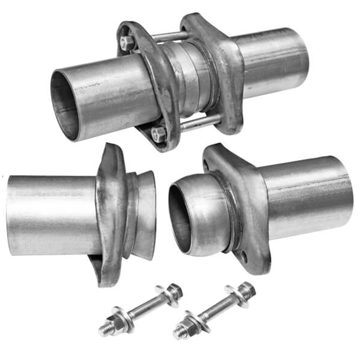 1967-2019 Camaro Flowmaster Weld-On Header Collector Ball Flange Kit, 2.5 In. to 2.5 In.: 15938