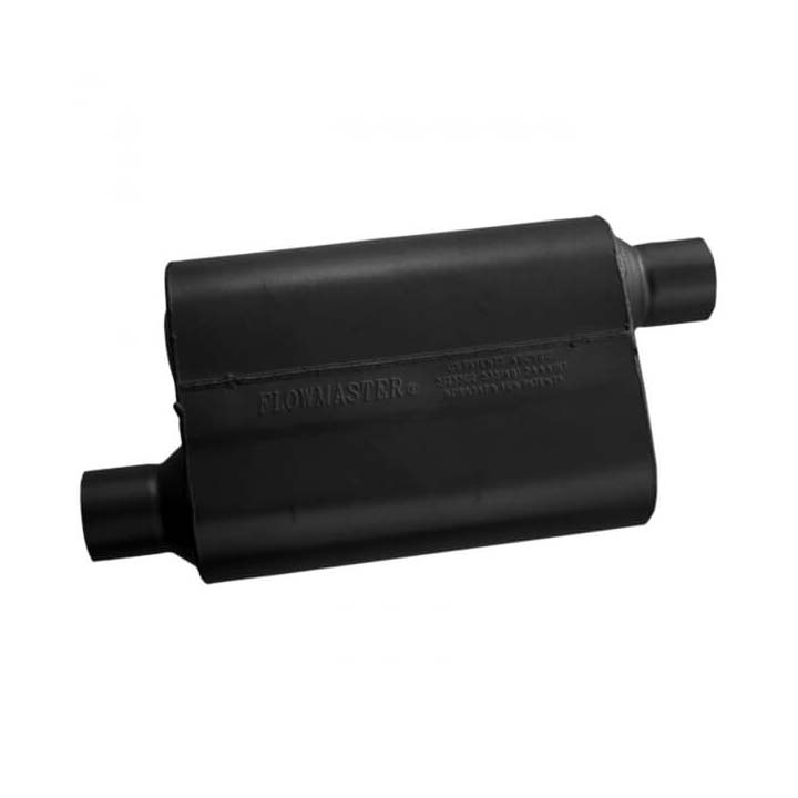 Flowmaster 43043 40 Series Muffler 3 Inch Offset Inlet//Offset Outlet