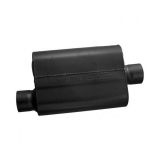 Flowmaster 40 Series Muffler, 3 In. Offset Inlet, 3 In. Center Outlet, Aggressive Tone: 43041