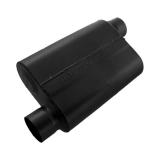 Flowmaster 40 Series Muffler, 3 In. Offset Inlet, 3 In. Offset Outlet, Aggressive Tone: 43043