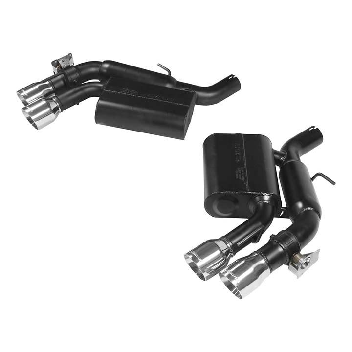 Flowmaster 817745 Axle-Back System Black 409S-DOR-Outlaw